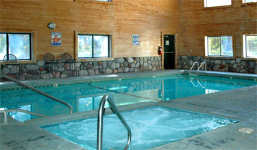 Upper Mi Lodging With Heated Pool Indoor Up Hotel