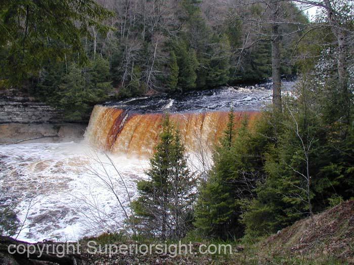Tahquamenon Falls Spring