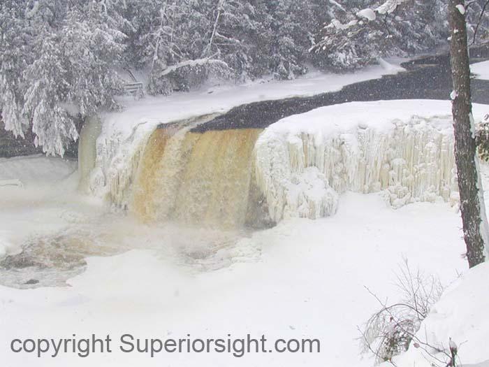 Tahquamenon Falls Winter